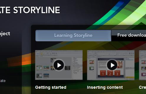 Übersicht Articulate Storyline
