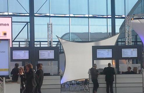 Bild vom Eingangsbereich der Learntec 2016