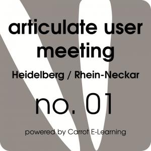 articulate user meeting heidelberg rhein neckar 2014 01 bericht carrot e learning. Black Bedroom Furniture Sets. Home Design Ideas