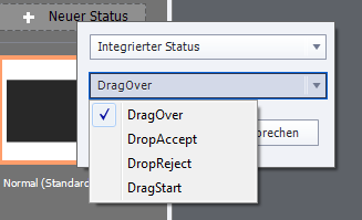 Adobe Captivate 9 - Statusanzeige - Überblick Drag Options