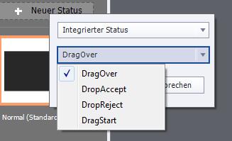 Adobe Captivate 9 - Statusanzeige - Überblick Drag Options