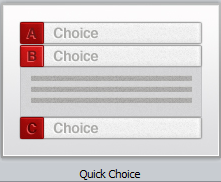 Articulate Engage - Quick Choice