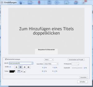 Adobe Captivate - Untertitel editieren