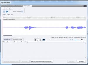 Adobe Captivate Audio Editor Überblick