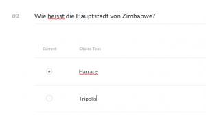 Articulate Rise - Quiz - Multiple Choice
