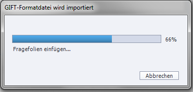 Adobe Captivate - GIFT-Datei wird importiert