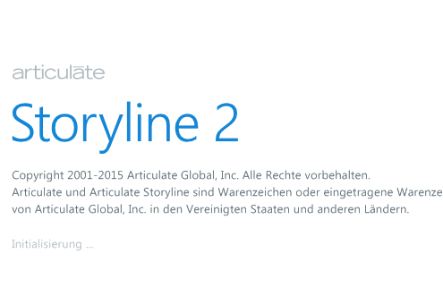 Articulate Storyline 2 in deutscher Sprache