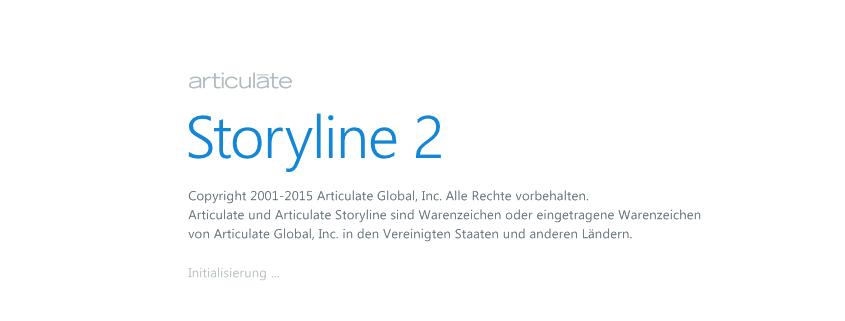Articulate Storyline 2 in deutscher Sprache