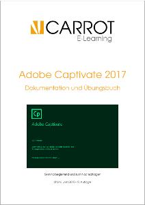 Deckblatt zum deutschsprachigen Handbuch Adobe Captivate 2017 von Ralf Baum
