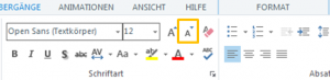 Text verkleinern in Articulate Storyline