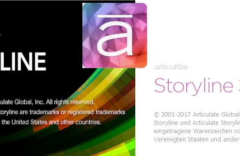 Logos von den verschiedenen Articulate Storyline-Versionen