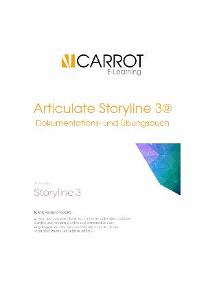 Articulate Storyline 3 - Handbuch in deutscher Sprache