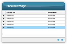 Adobe Captivate - Lerninteraktionen - Checkbox Widget