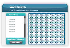Adobe Captivate - Lerninteraktionen - Word Search