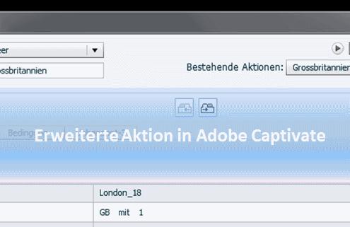 Adobe Captivate - erweiterte Aktionen