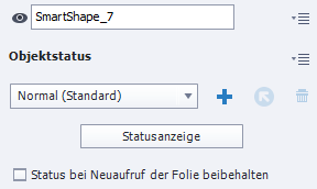 Adobe Captivate Statusanzeige