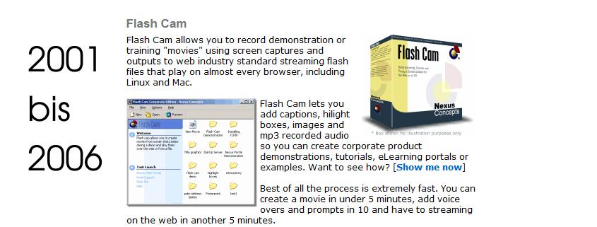 Flash Cam - Aufzeichnungsprogramm