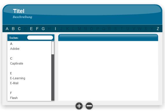 Adobe Presenter Glossary Interaction