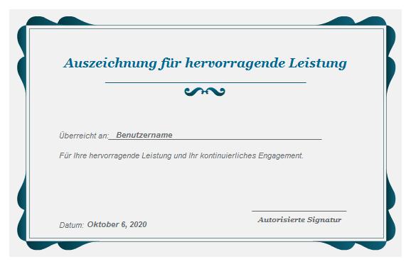 Adobe Presenter - Certificate Interaktion