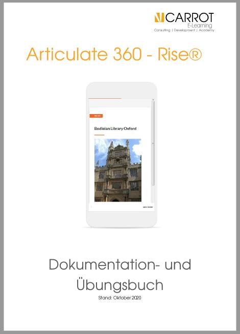 Articulate Rise - Dokumentation- und Übungsbuch