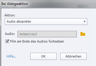 Adobe Captivate Drag&Drop Ablegeaktion