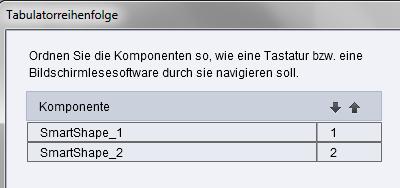 Adobe Captivate - Tabulator-Reihenfolge